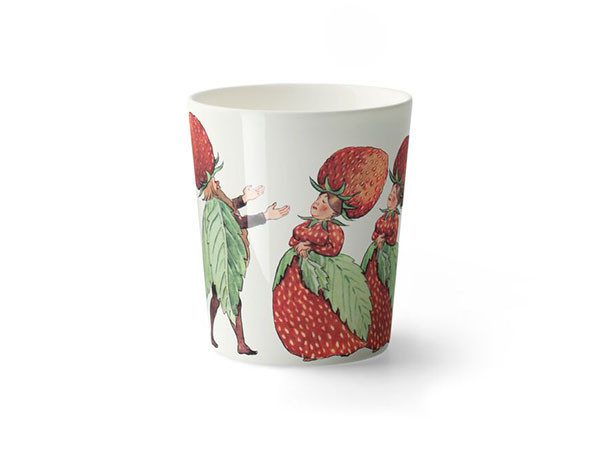 Design House StockholmElsa Beskow Collection Mug The Strawberry family