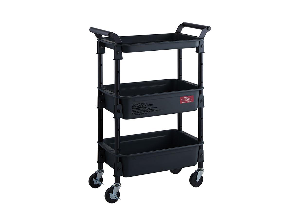 HEAVY-DUTY tray-shelf cart