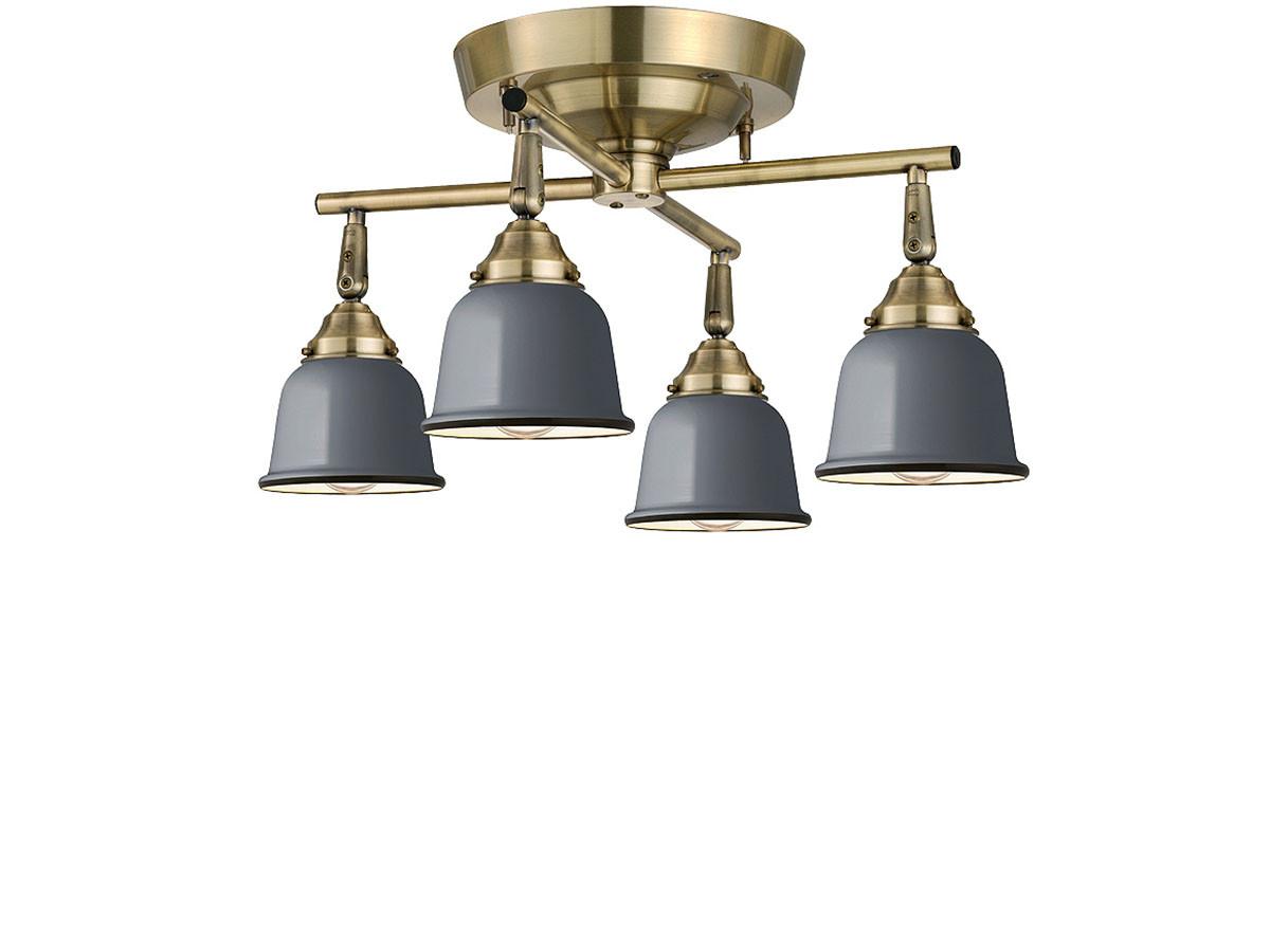 CUSTOM SERIES 4 Cross Ceiling Lamp × Petit Steel