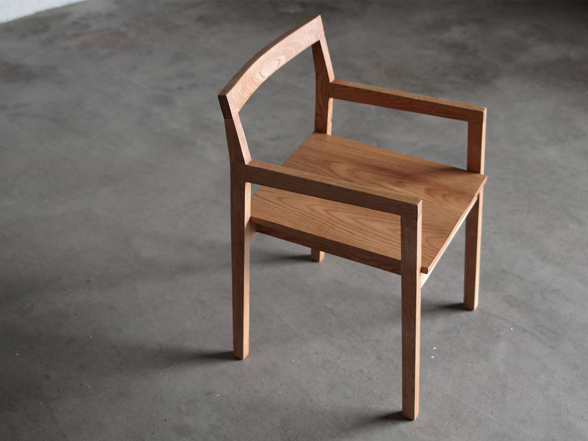 LIFE FURNITURE SQ OAK CHAIR