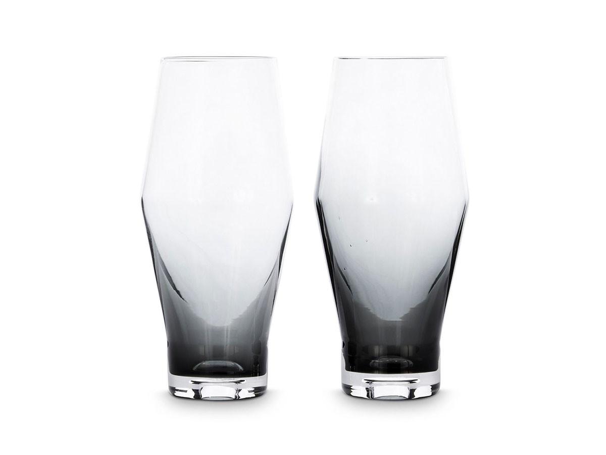 Tank Beer Glass 2P Black