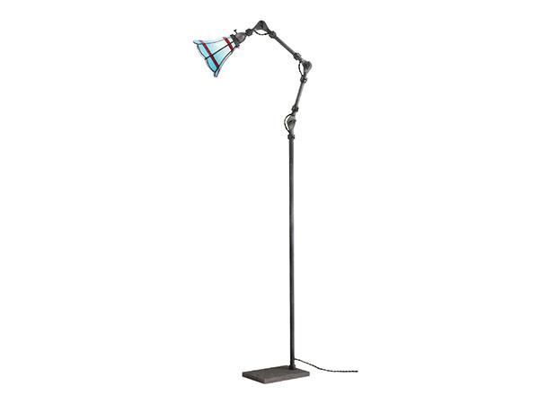 CUSTOM SERIES Engineer Side Floor Lamp × Stained Glass Maribu