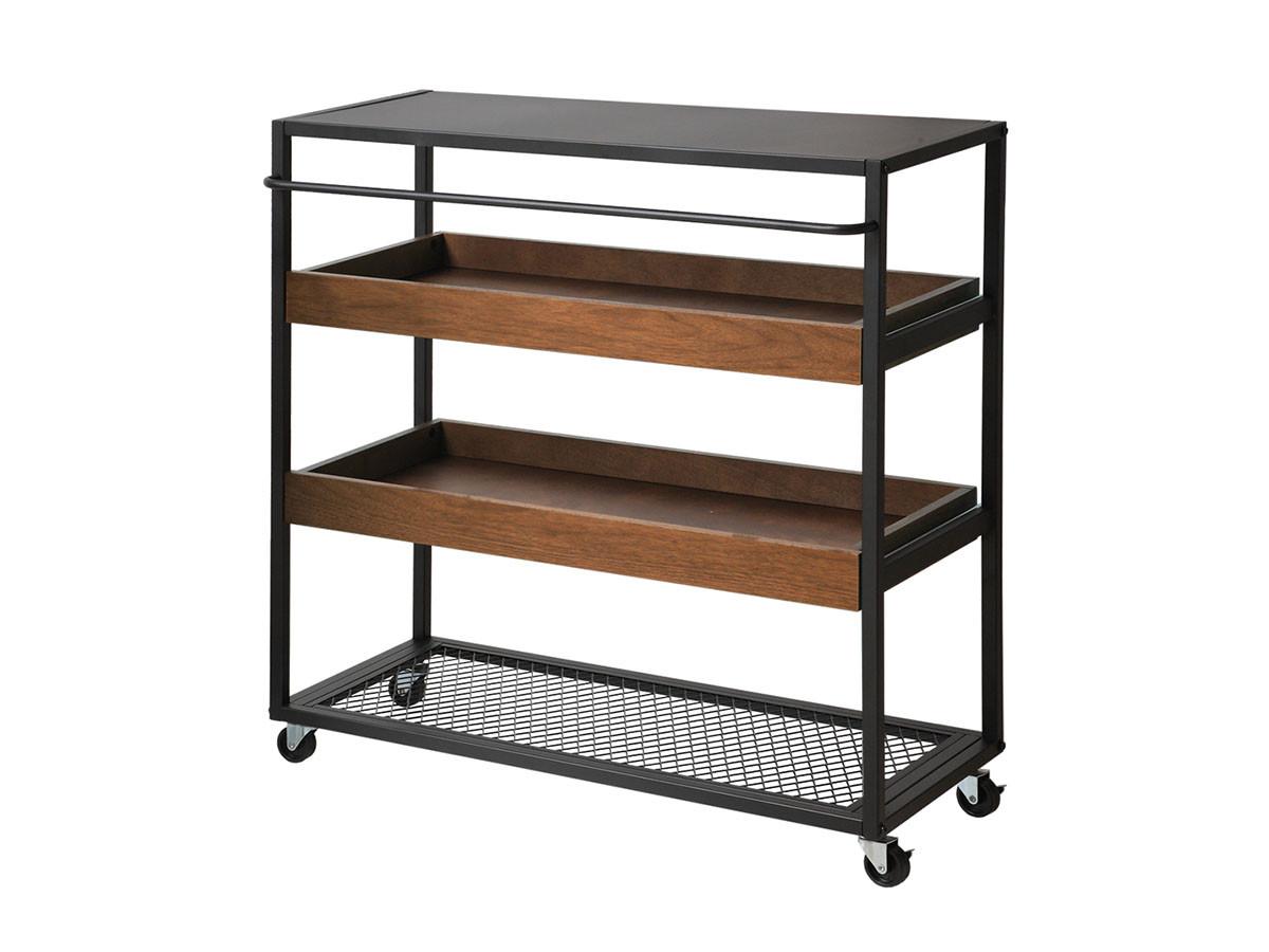 FLYMEe RoomWalnut Wagon Rack