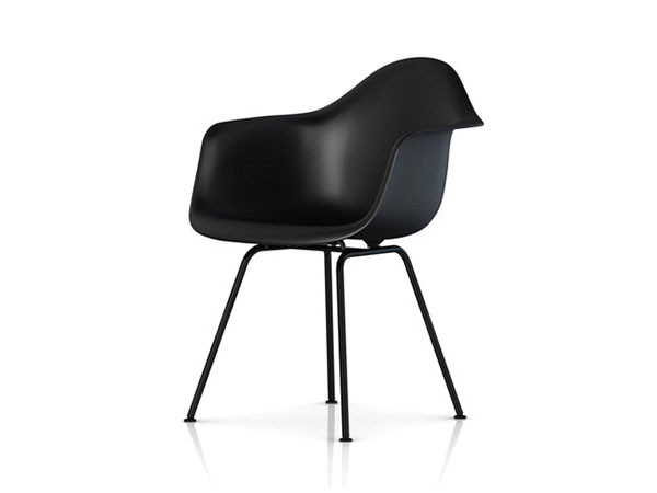 Eames Molded Plastic Arm Shell Chair
