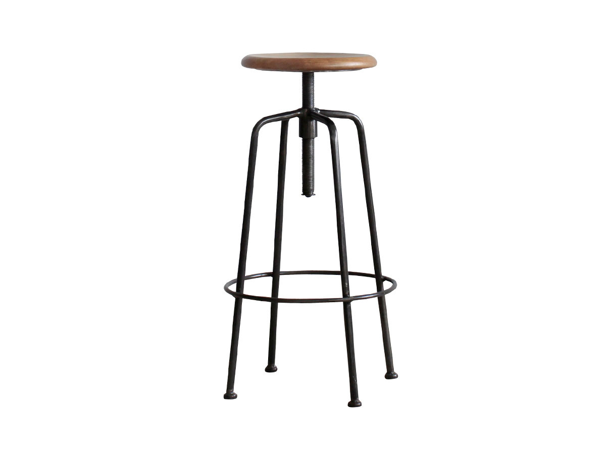 CRASH GATE CONVEX STOOL L