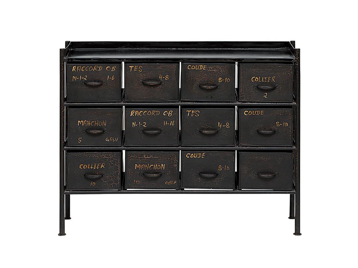 journal standard FurnitureGUIDEL 12 DRAWERS CHEST WIDE