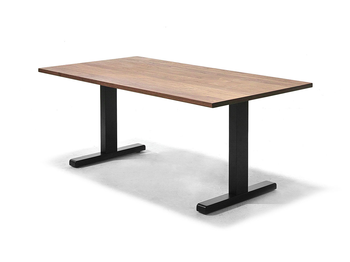 WILDWOOD LOW DINING TABLE T-LEGS