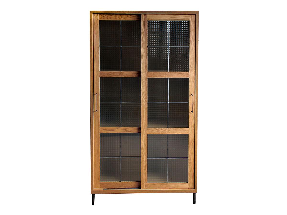 a.depechecadeal slide glass cabinet high