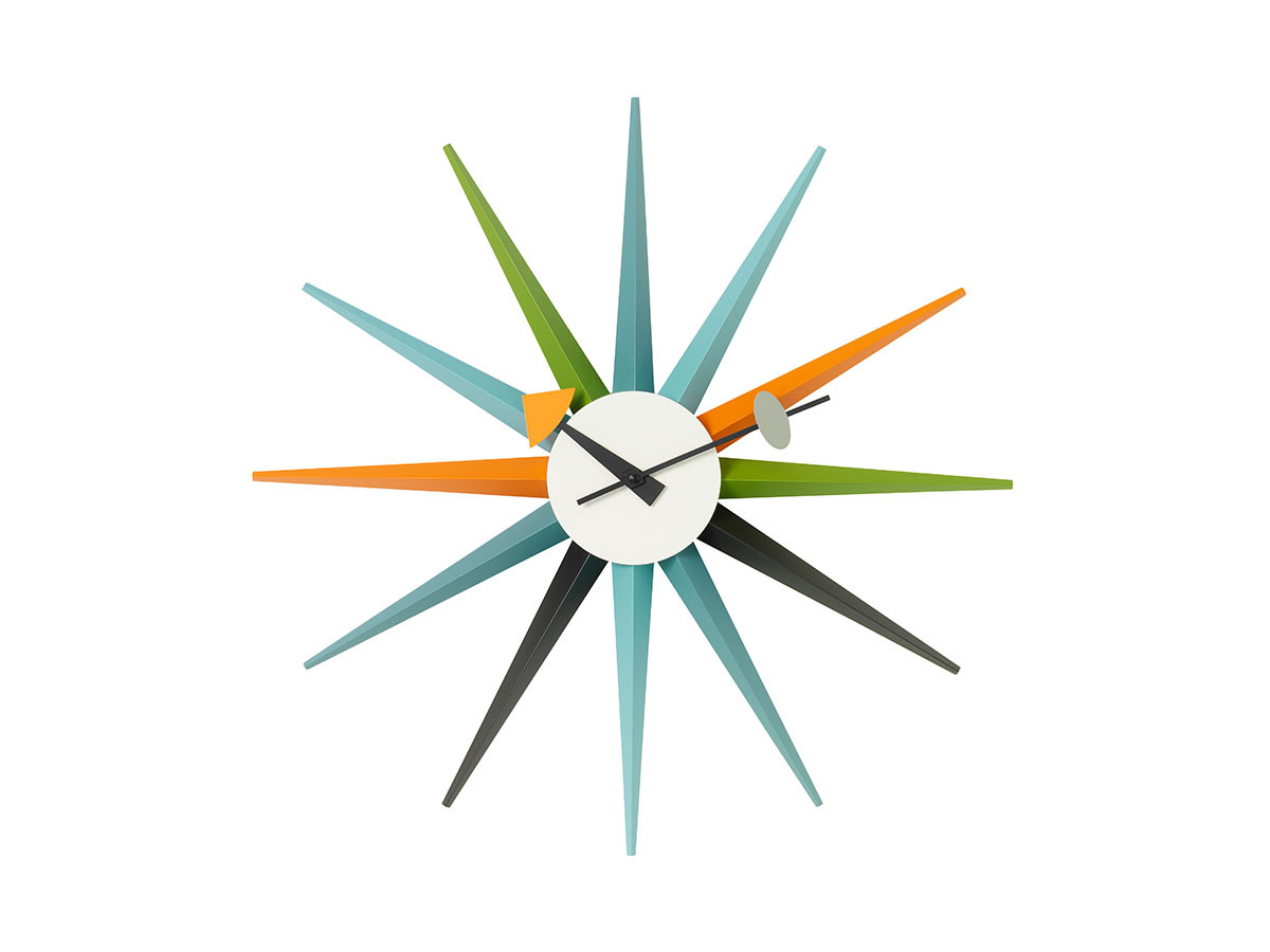 VitraWall Clocks Sunburst Clock
