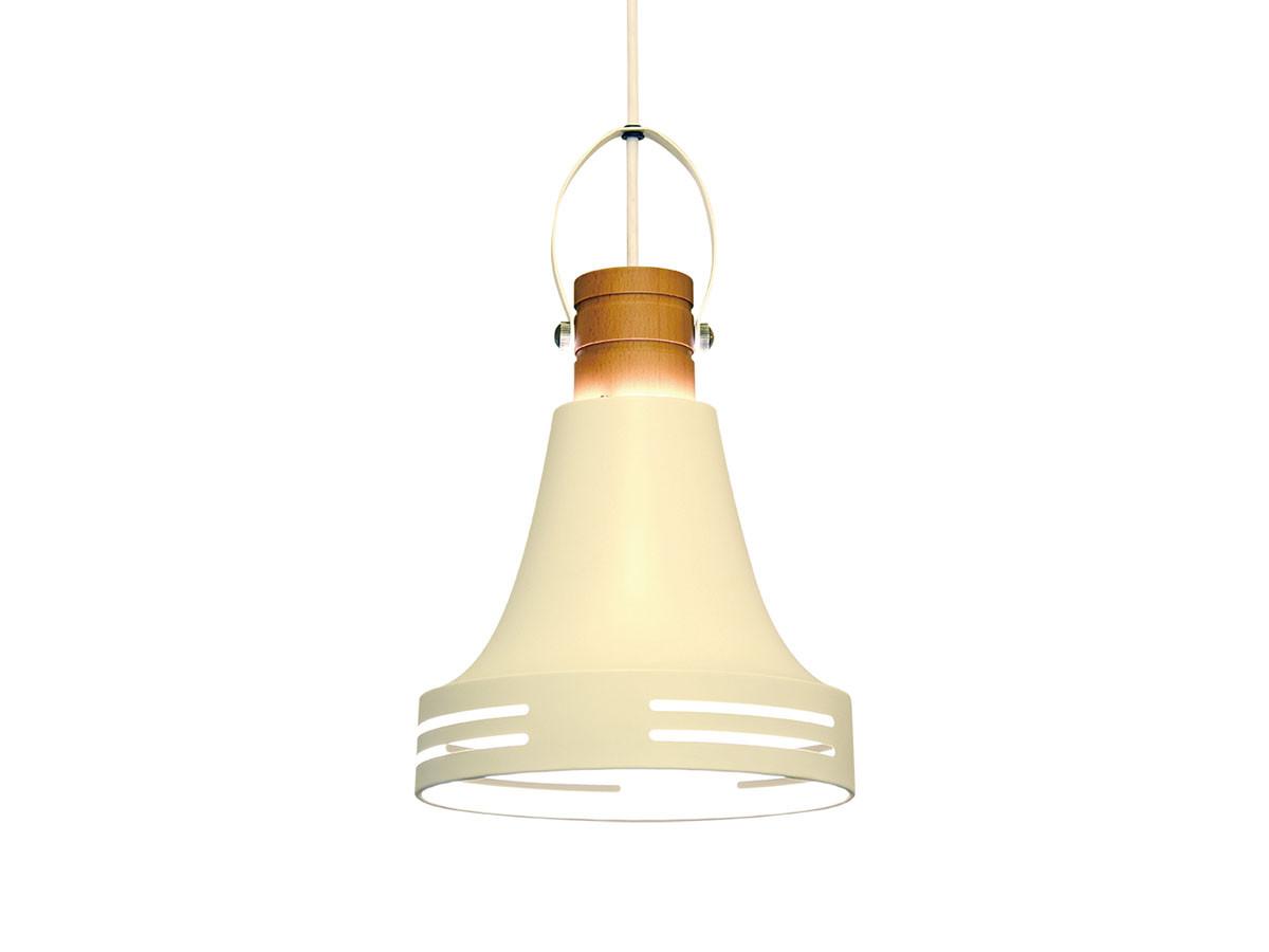 Wood Bell 1bulb Pendant Light