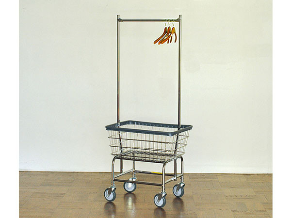 PACIFIC FURNITURE SERVICELAUNDRY CART DOUBLE POLE