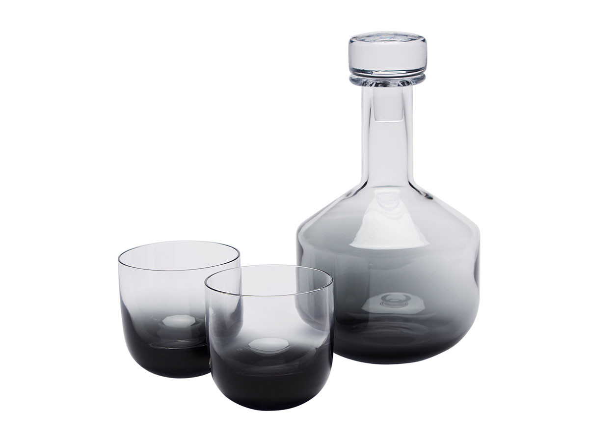 Tank Whisky Decanter Giftset Black
