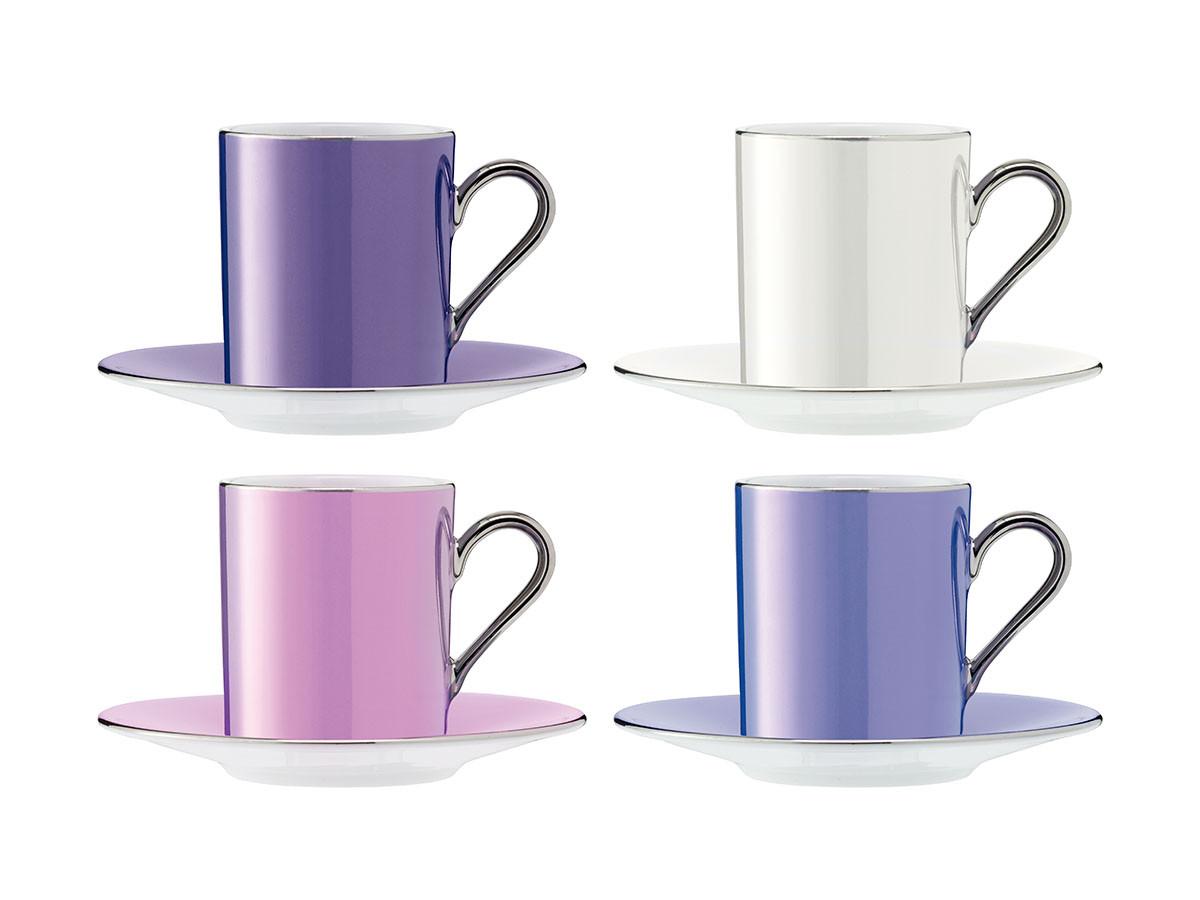 FLYMEe accessoirePOLKA COFFEE CUP & SAUCER SET4