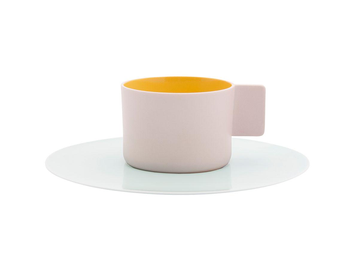 "FLYMEe accessoire1616 / S&B ""Colour Porcelain"" S&B Coffee Cup & Saucer"